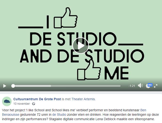 I like de Studio